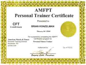 Fitness certificate new calendar template site for Personal training certificate template